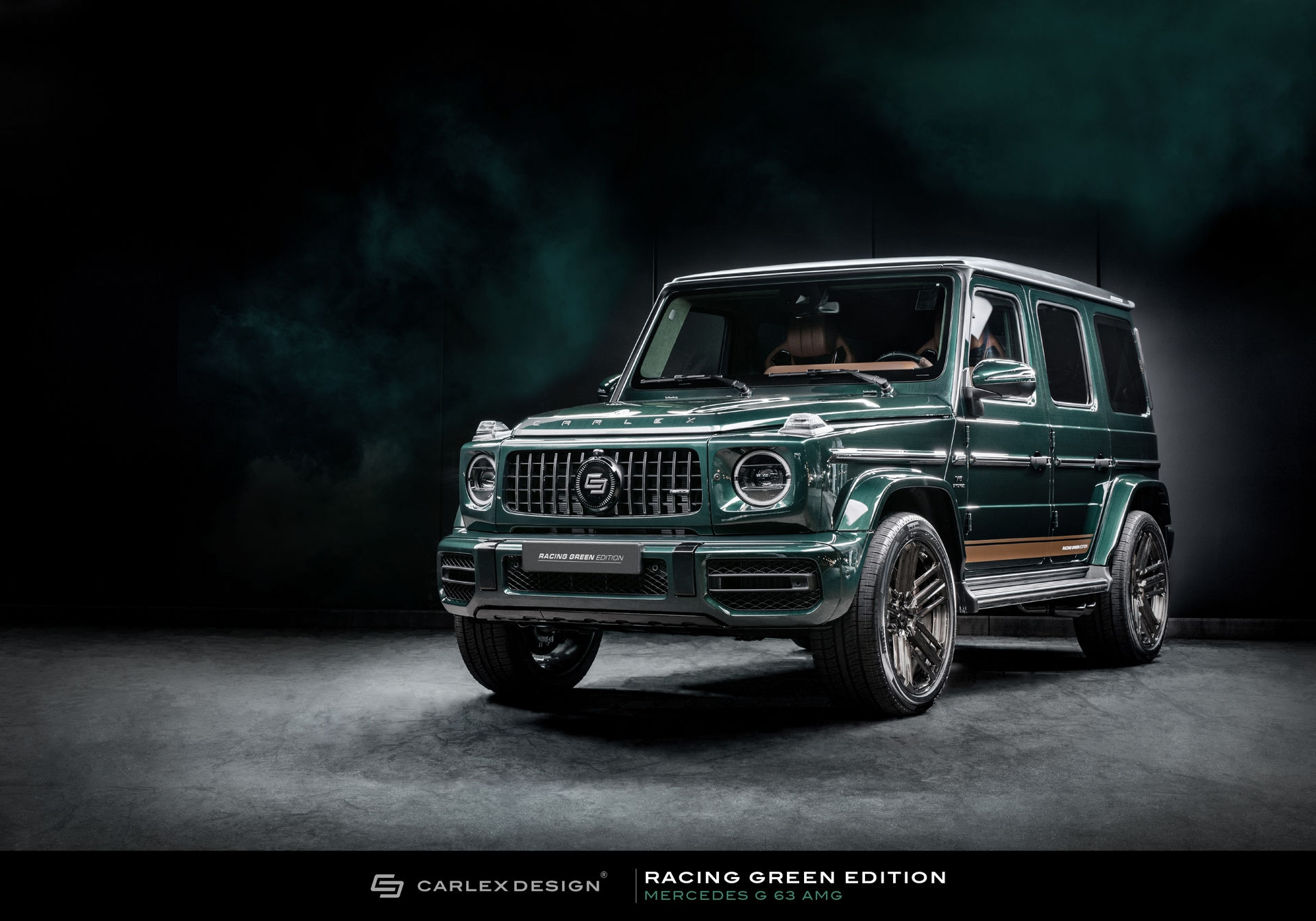 Mercedes Classe G Racing Green Edition