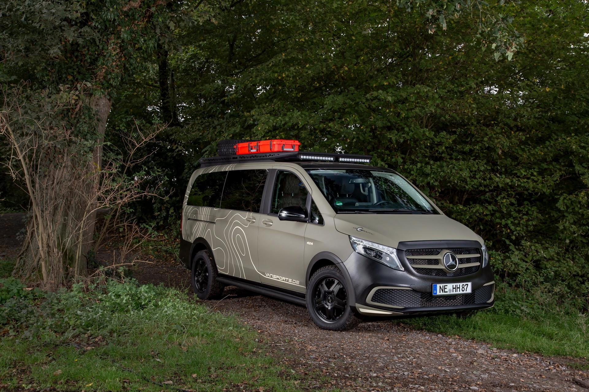 Mercedes Classe V Hartmann GeoTrek Edition