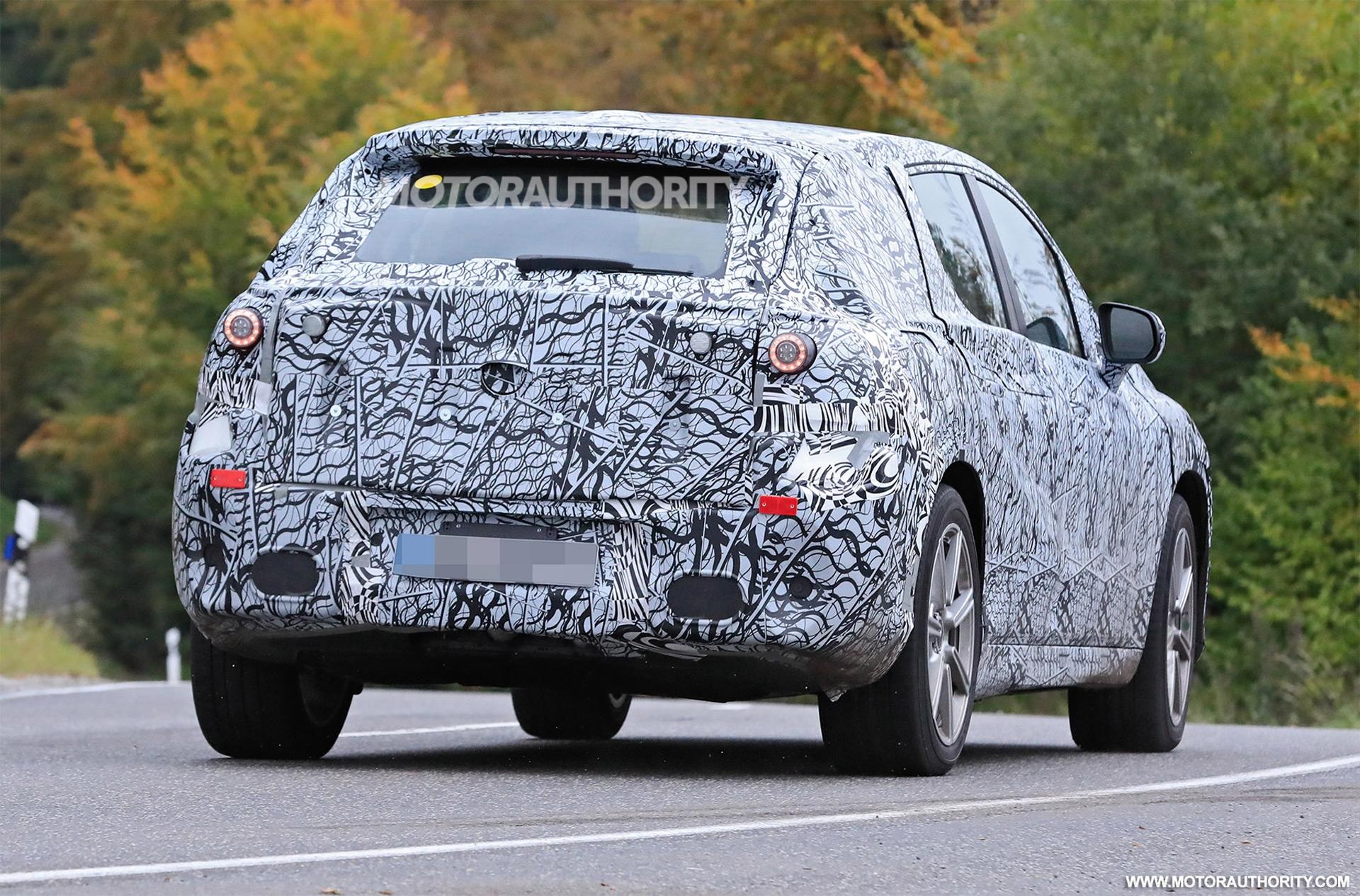 Mercedes EQS SUV foto spia