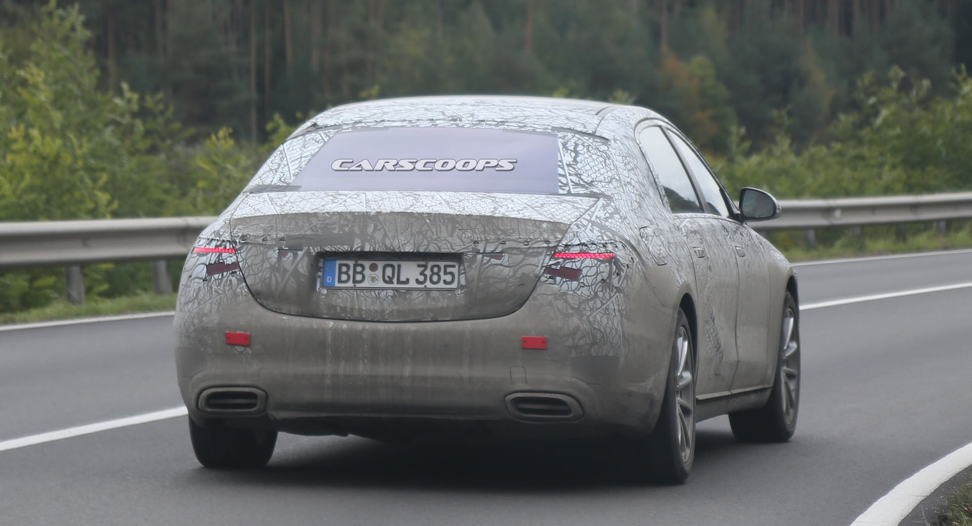 Mercedes-Maybach Classe S 2021 ultime foto spia