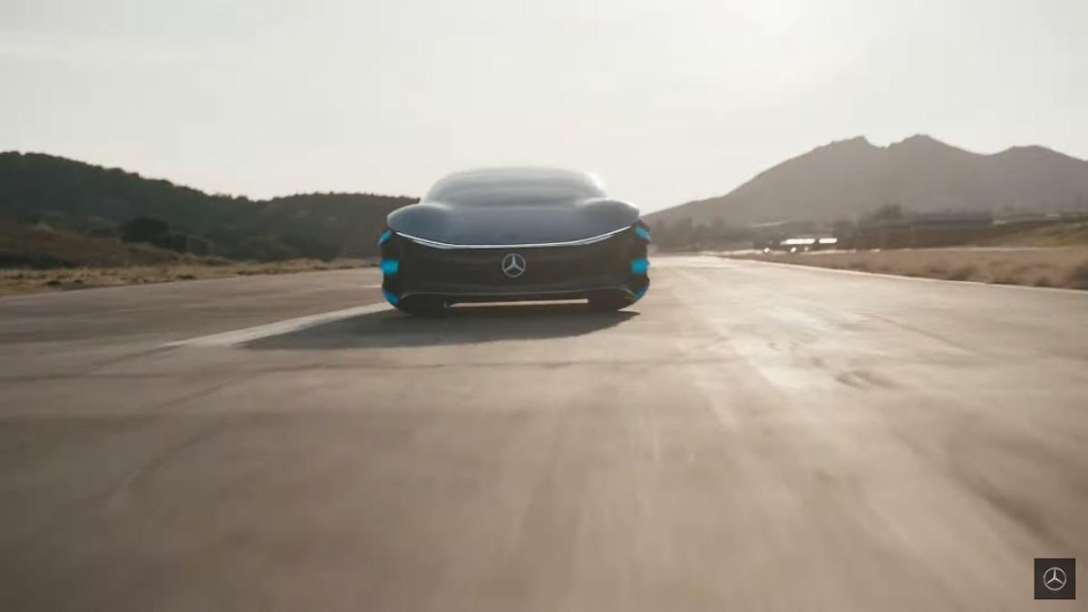 Mercedes Vision AVTR video