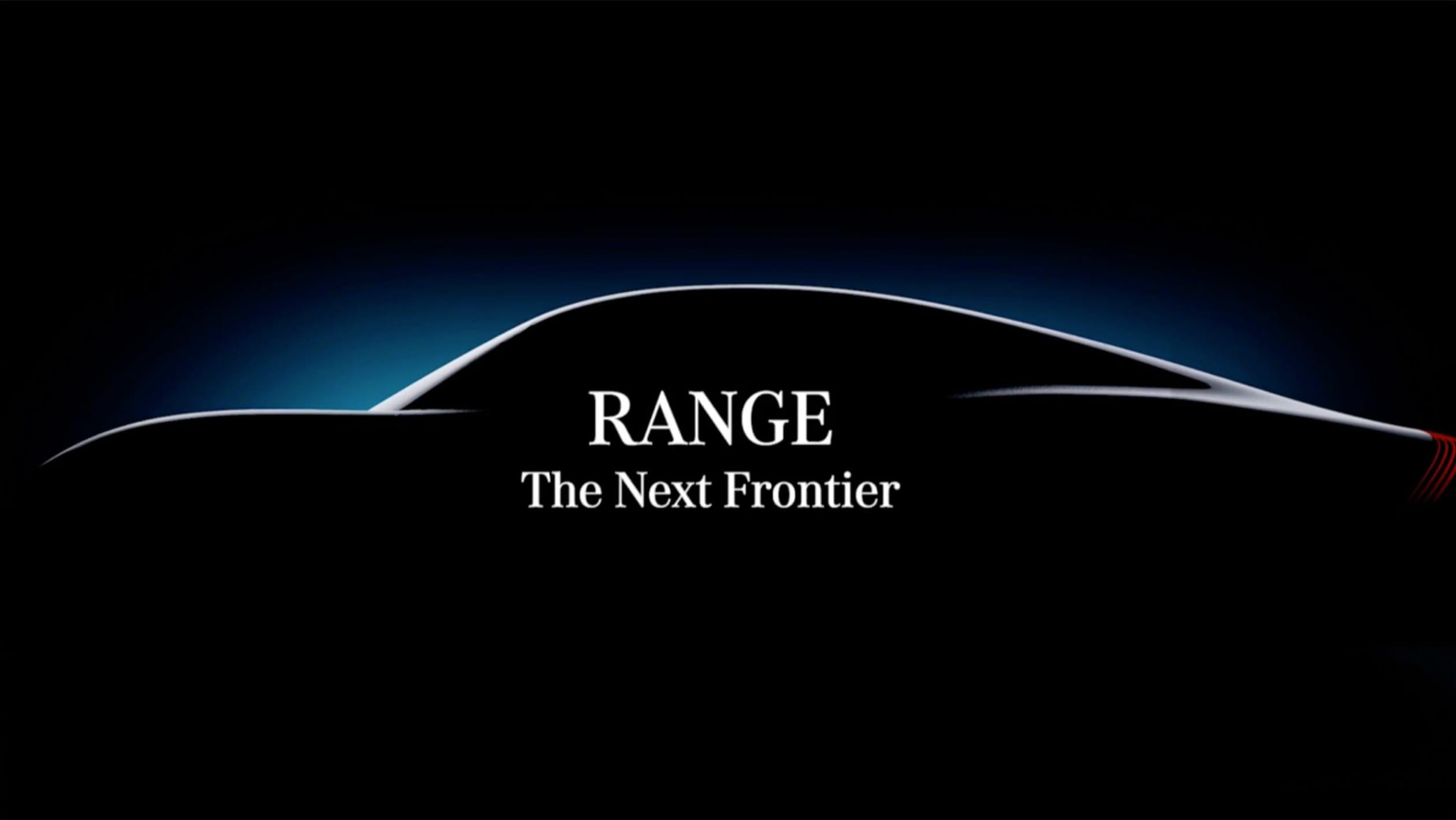 Mercedes Vision EQXX teaser