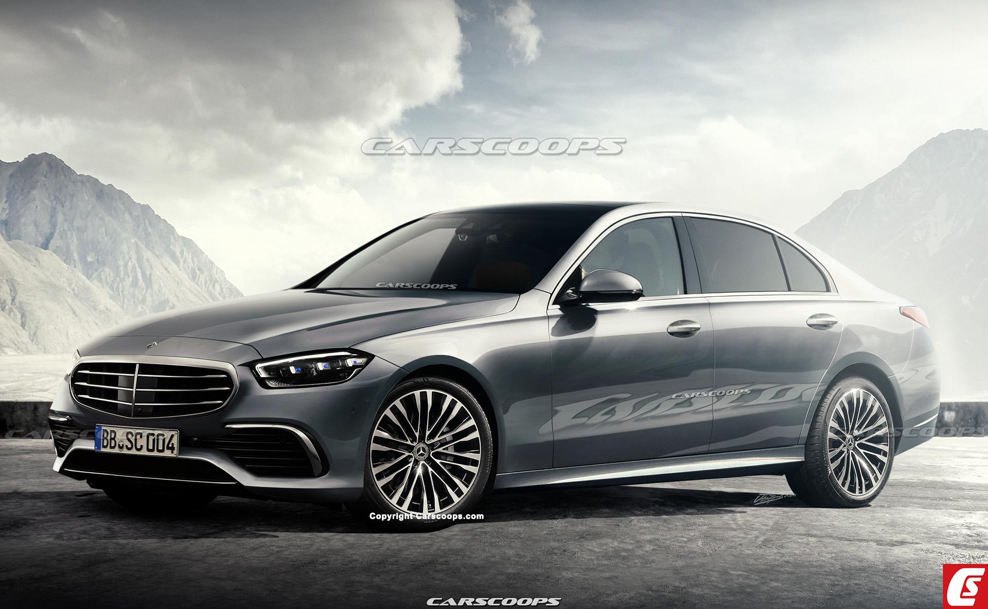 Nuova Mercedes Classe C render