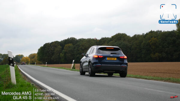 Mercedes-AMG GLA 45 S 2021 test autostrada