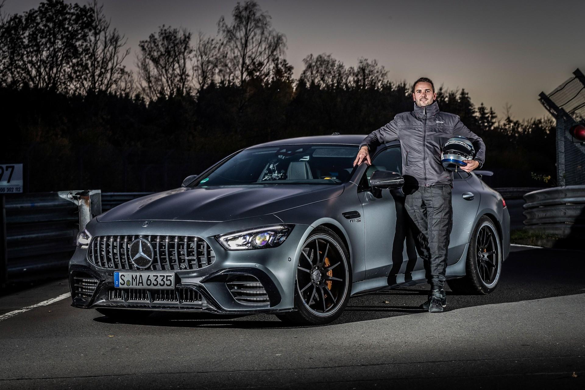 Mercedes-AMG GT 63 S record Nurburgring