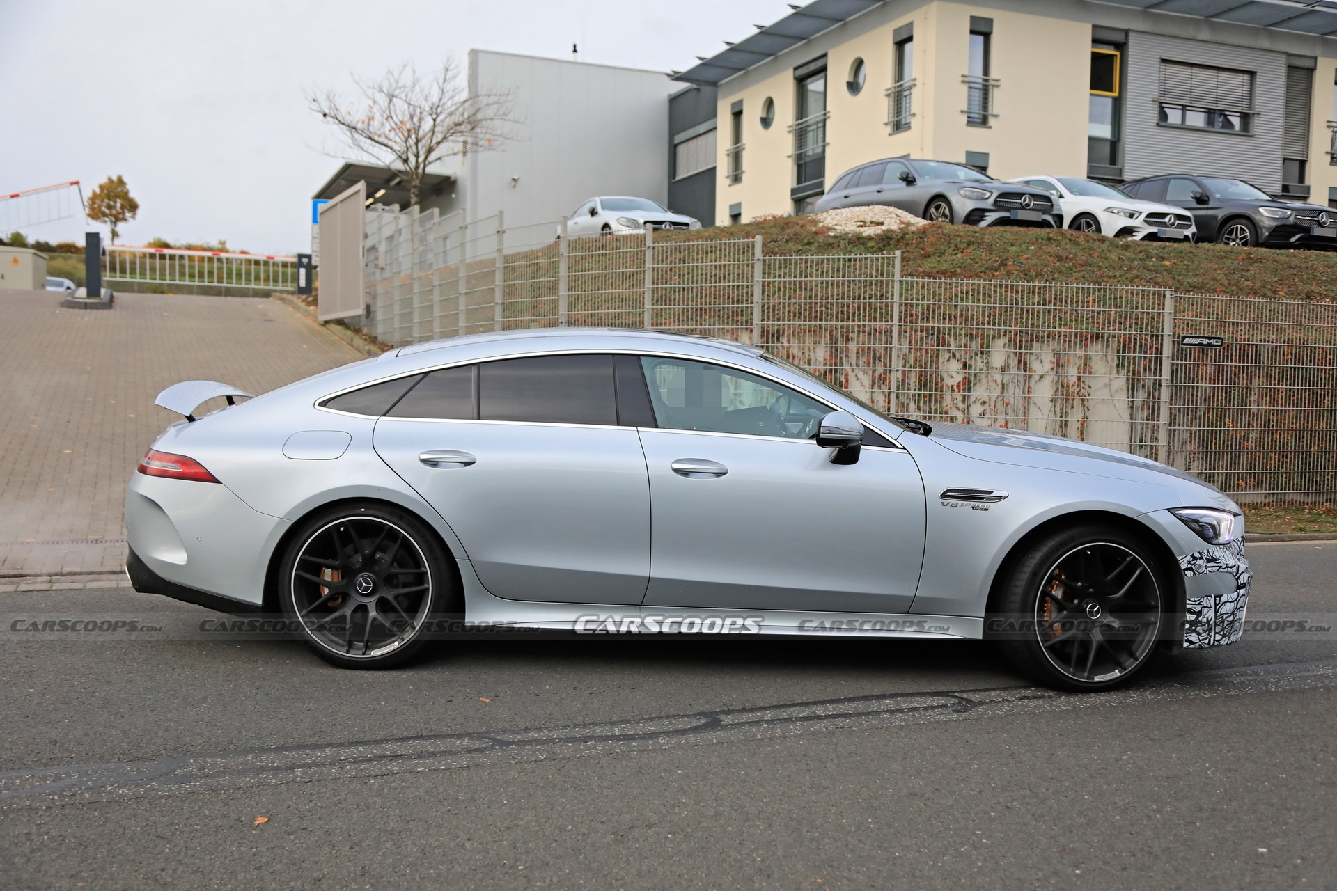 Mercedes-AMG GT 63 S restyling prototipo foto spia
