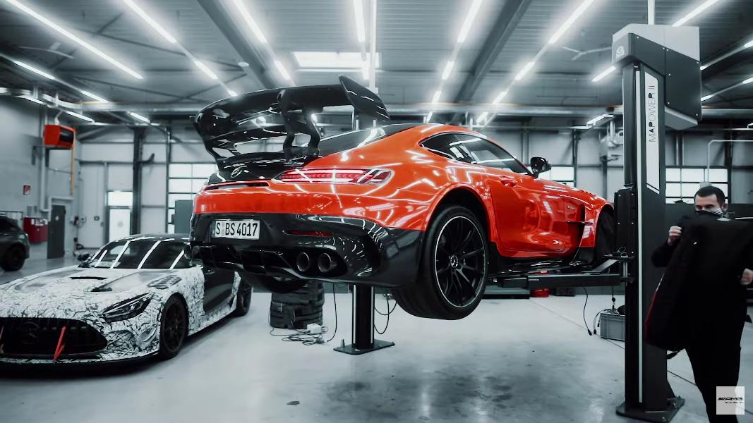 Mercedes-AMG GT Black Series dietro le quinte