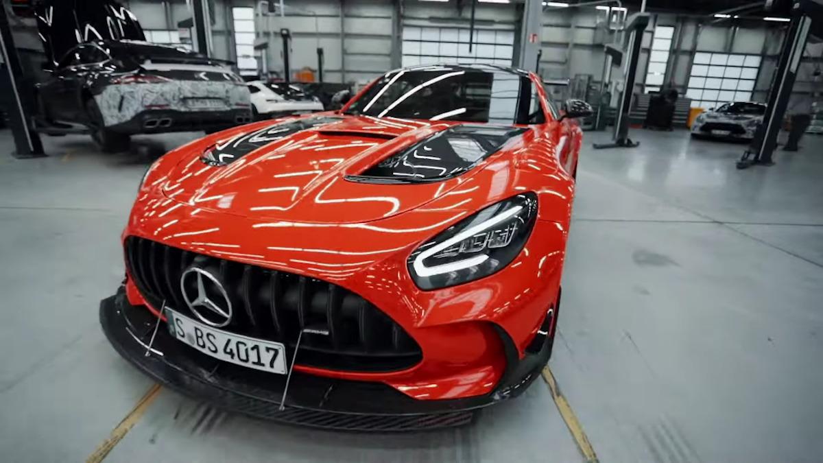 Mercedes-AMG GT Black Series: il dietro le quinte del record sul Nurburgring | Video