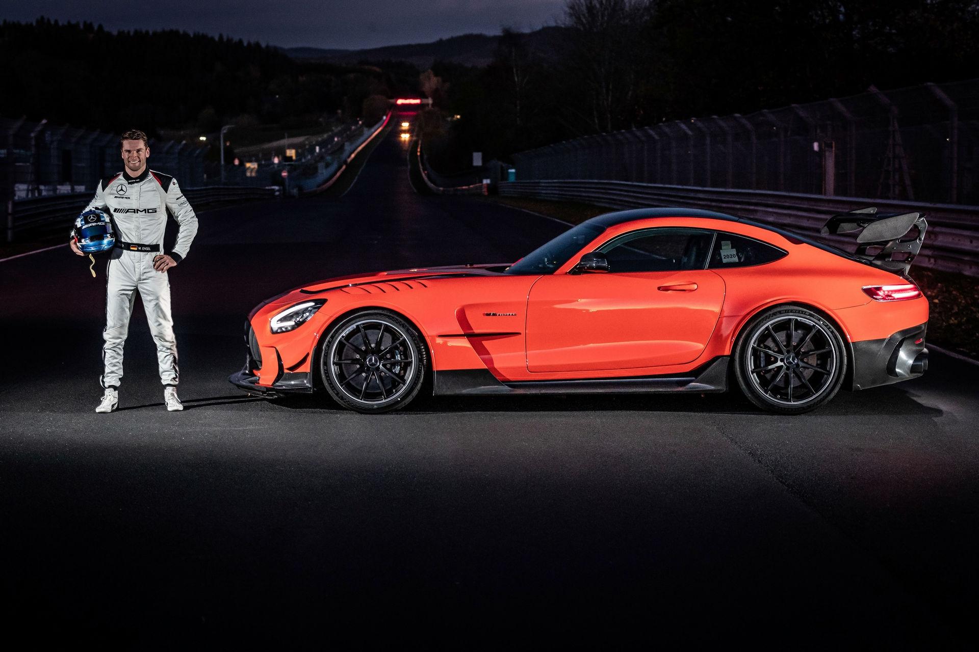 Mercedes-AMG GT Black Series record Nurburgring