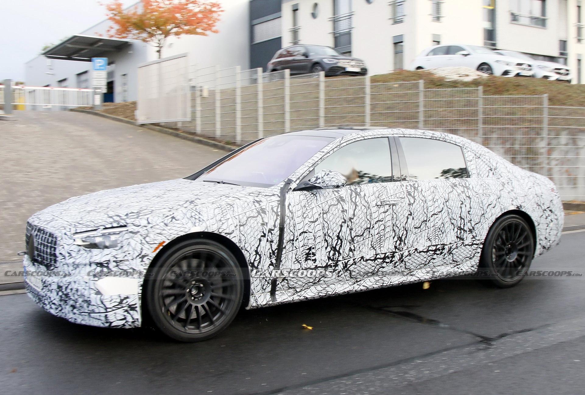 Mercedes-AMG S 63 e 2022 foto spia