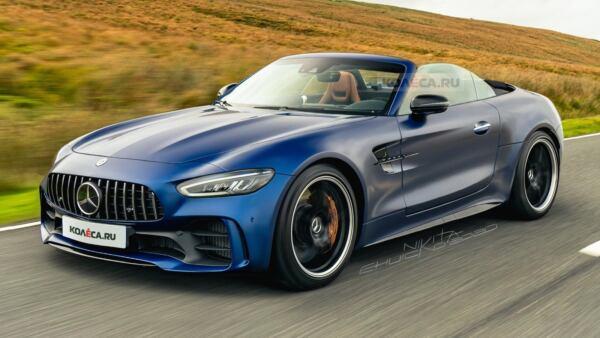 Mercedes-AMG SL 63 2022 render