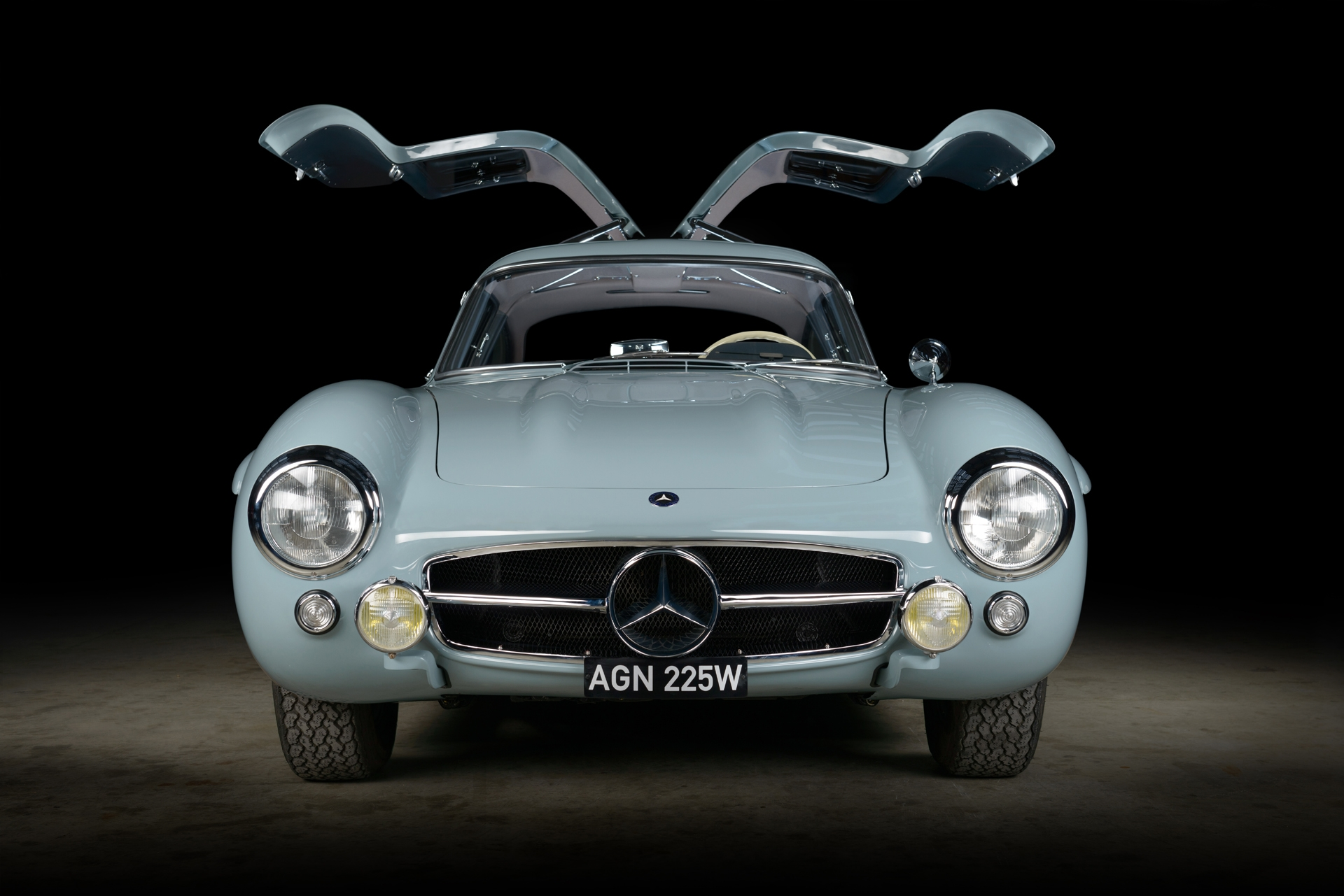 Mercedes-Benz 300 SL Ali di Gabbiano restauro