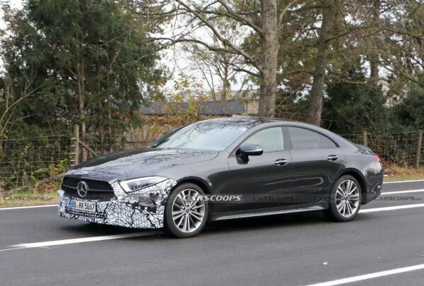 Mercedes CLS 2022 prototipo nero