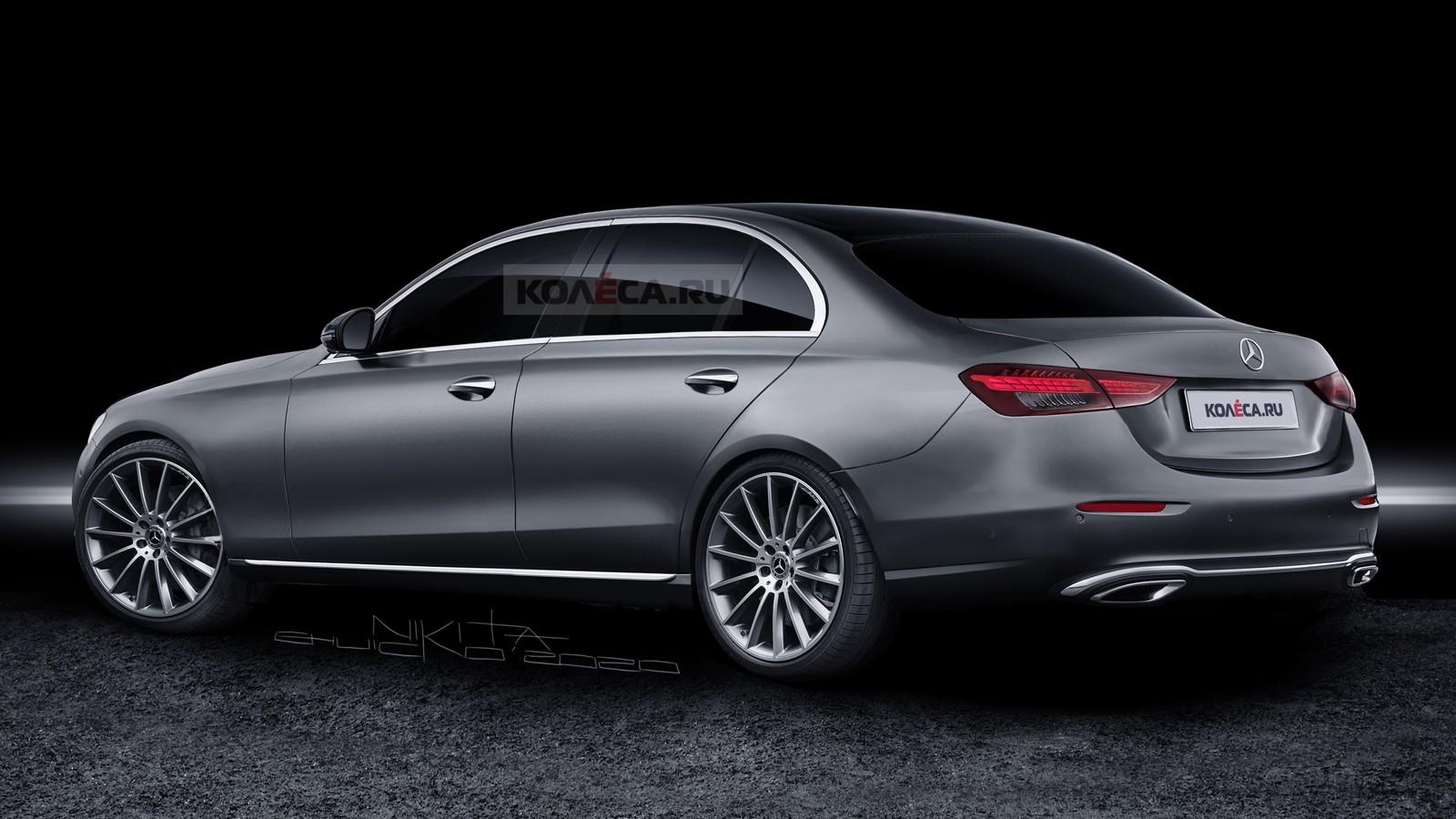 Mercedes Classe C 2022 render