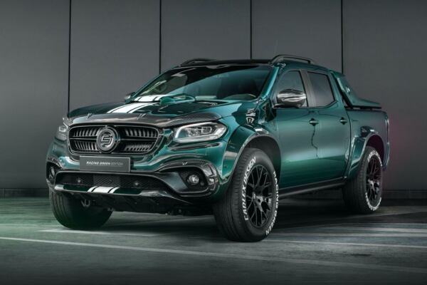 Mercedes Classe X Racing Green Edition Carlex Design