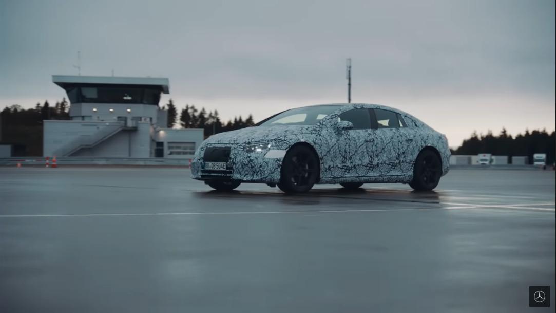 Mercedes EQA e EQS test ufficiali