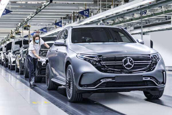 Mercedes EQC ricarica rapida
