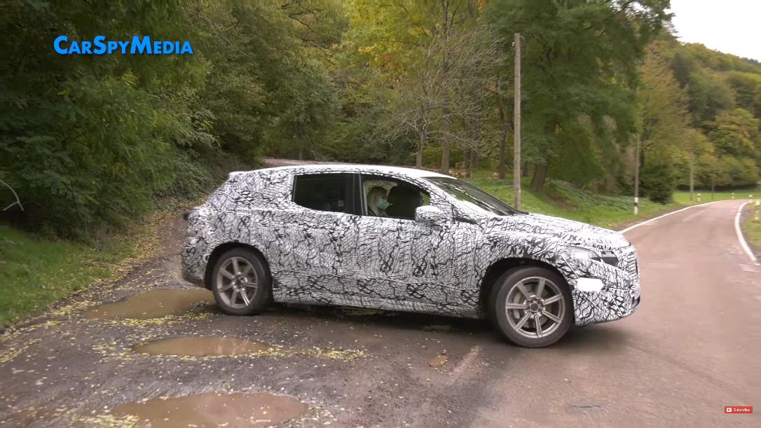 Mercedes EQS SUV ultimo prototipo foto spia