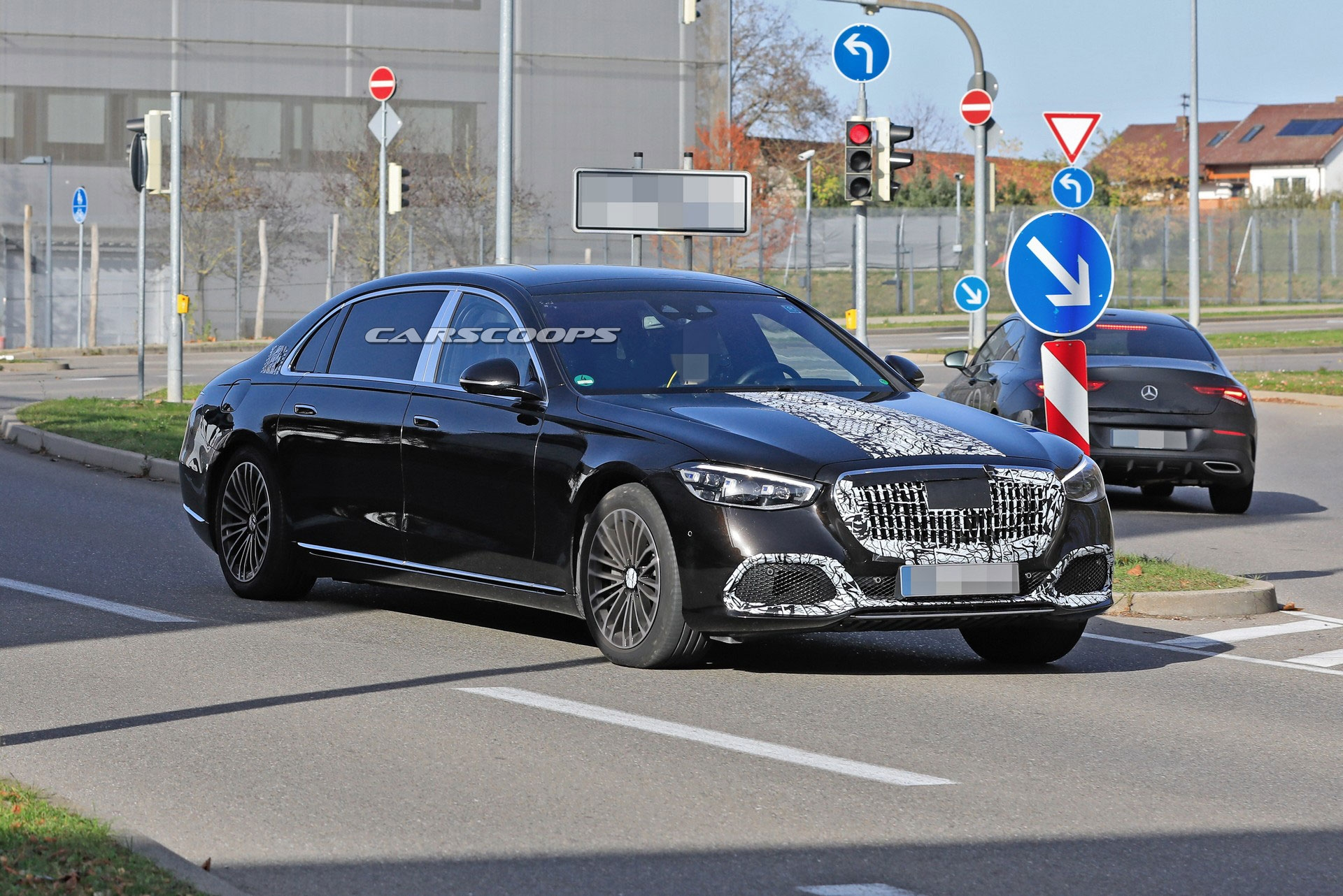 Mercedes-Maybach Classe S 2021 foto spia