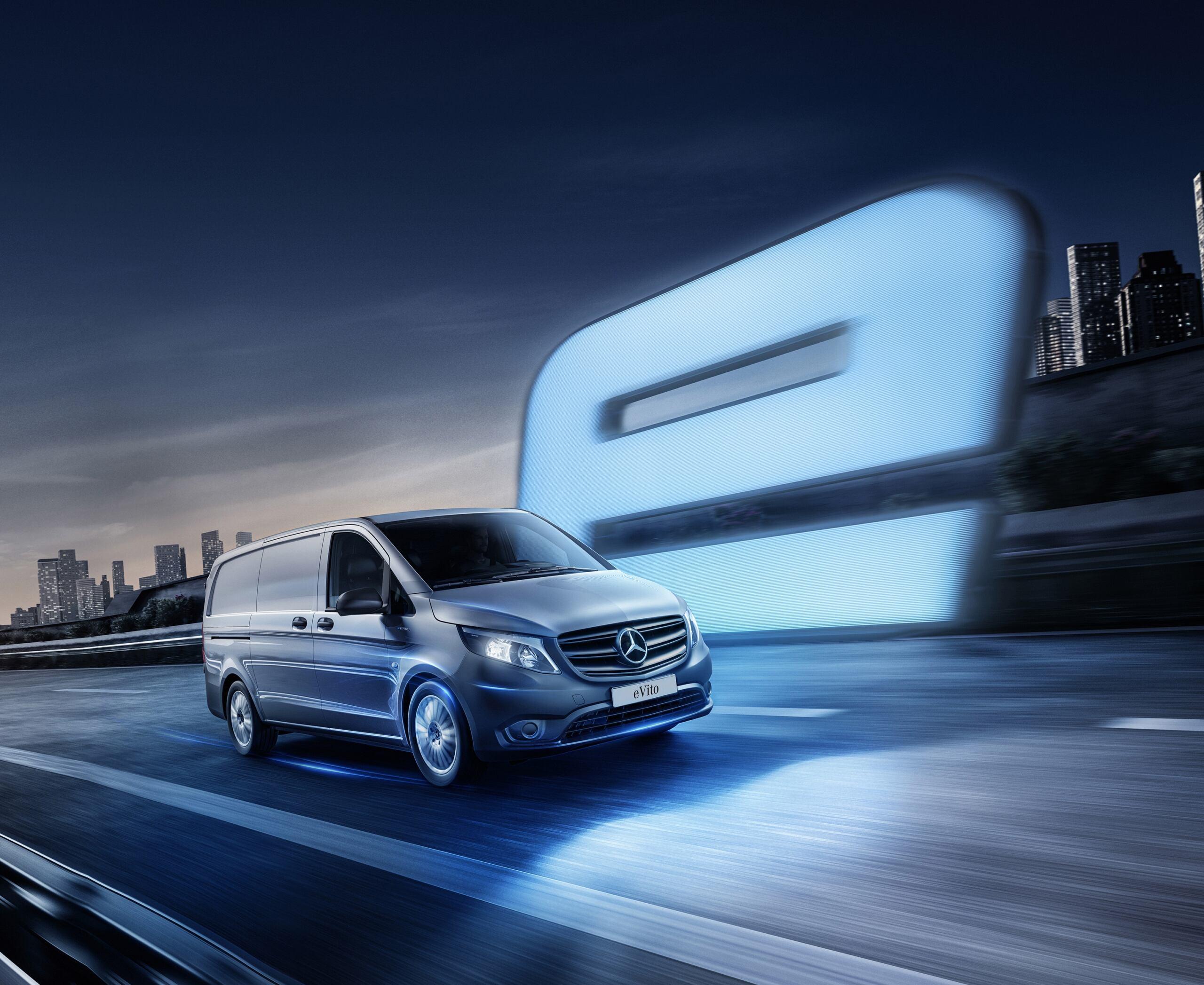 Mercedes eVito: svelati prezzi e allestimenti per il Regno Unito