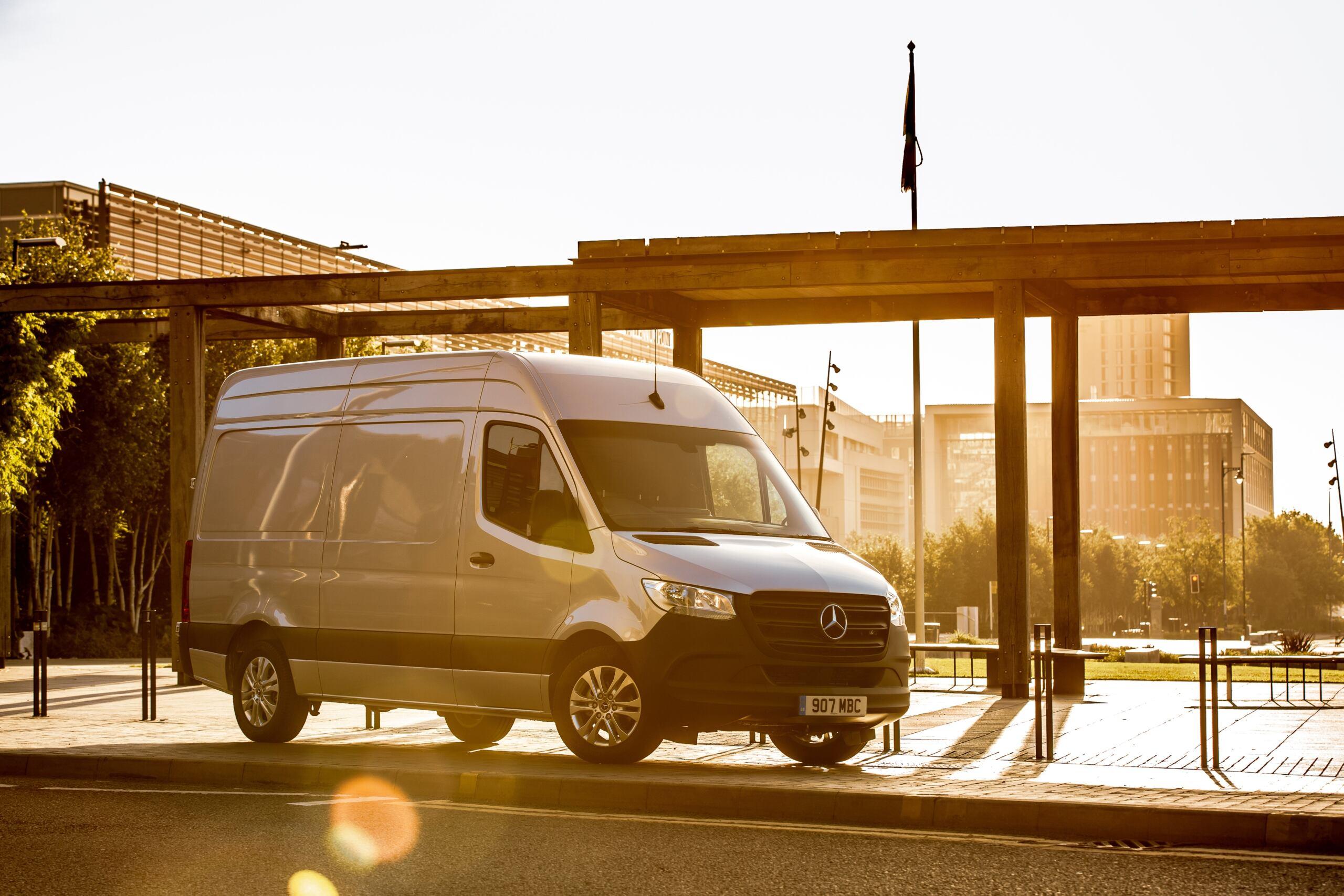 Mercedes premi What Car? Van Awards