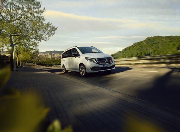Nuova Mercedes EQV