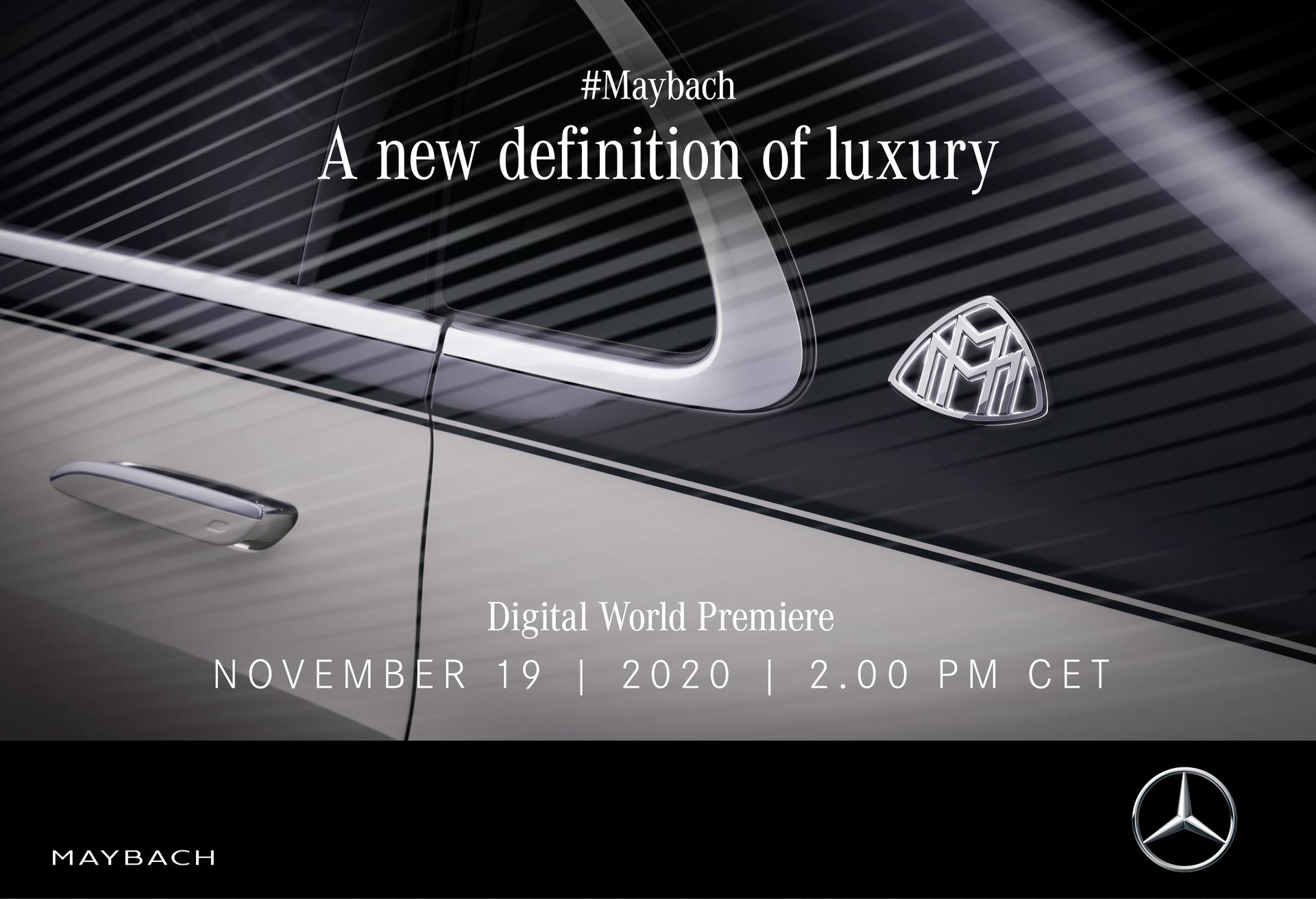 Nuova Mercedes-Maybach Classe S teaser