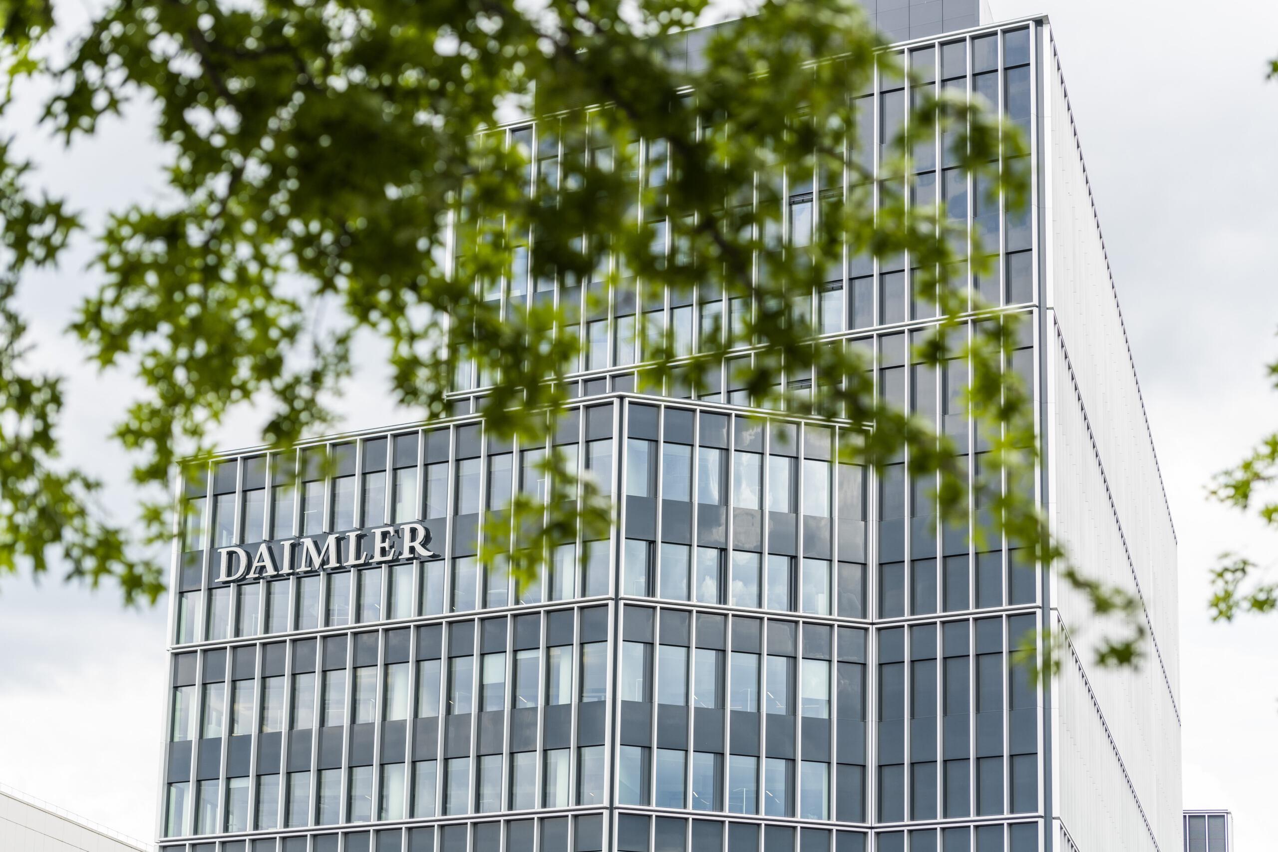 Daimler AG Zentrale - StuttgartDaimler AG Headquarter Stuttgart, Germany