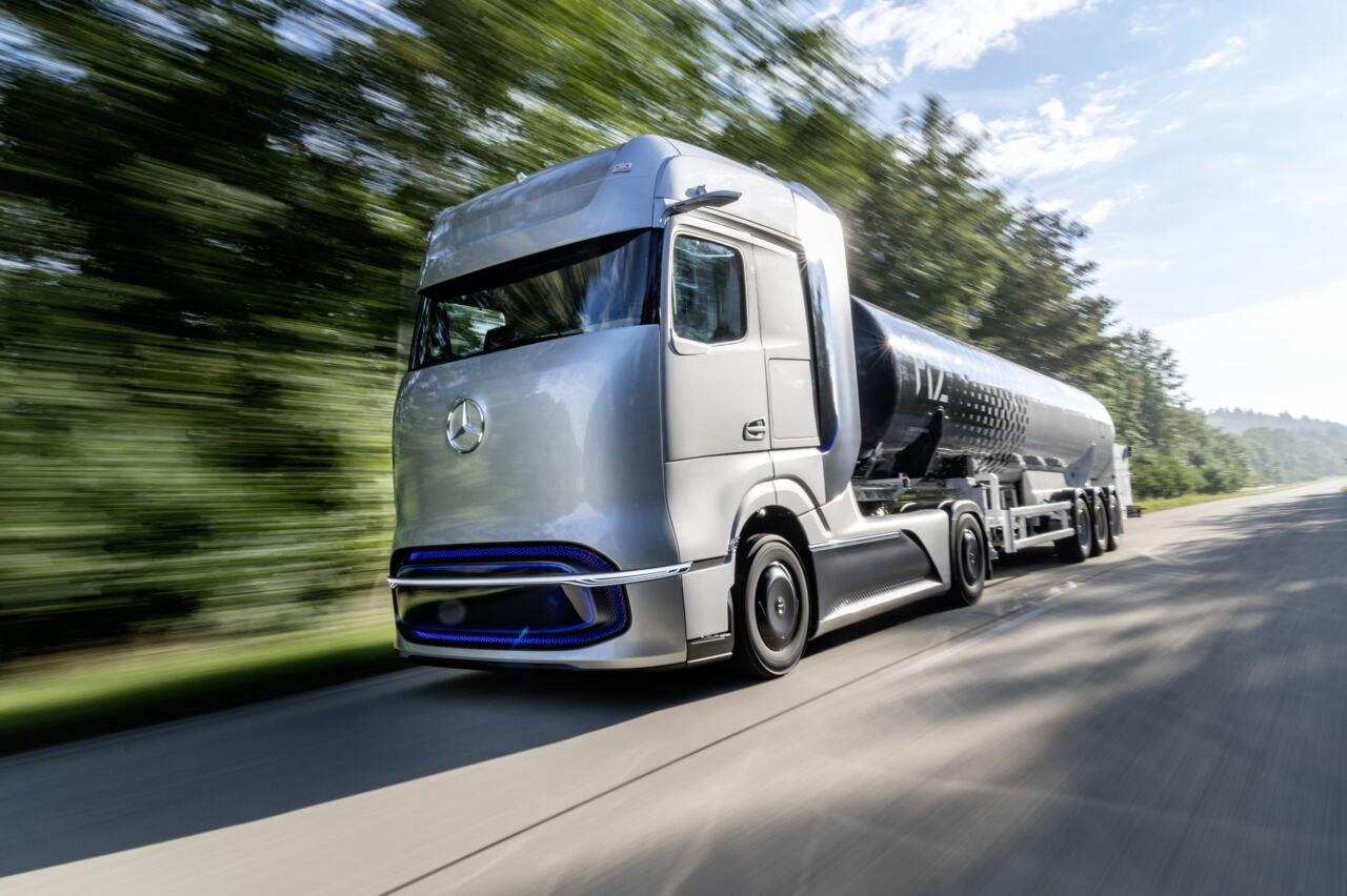 Daimler camion idrogeno