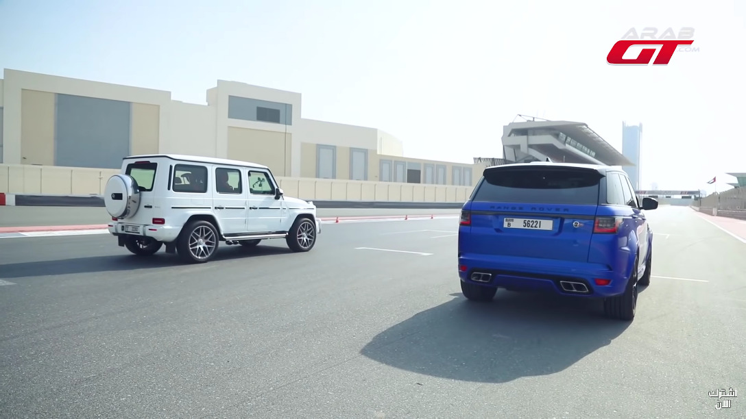 Mercedes-AMG G 63 vs Range Rover Sport SVR