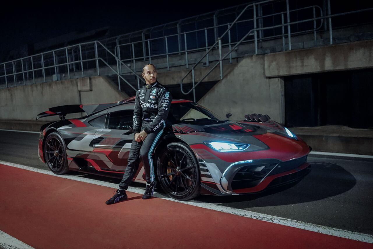 Mercedes-AMG One Lewis Hamilton