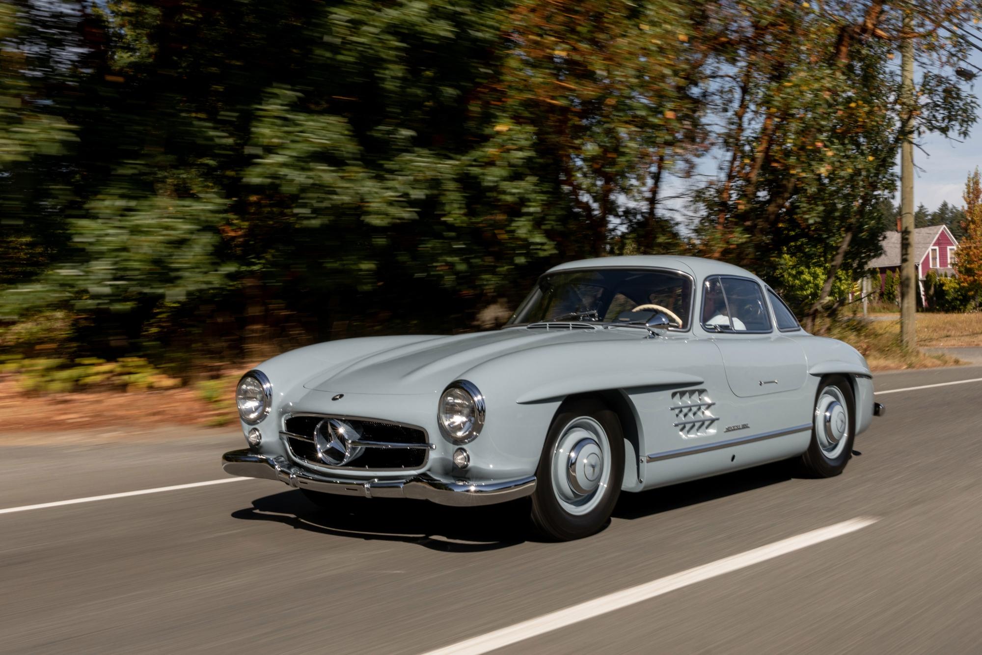 Mercedes-Benz 300 SL Ali di Gabbiano 1957 asta