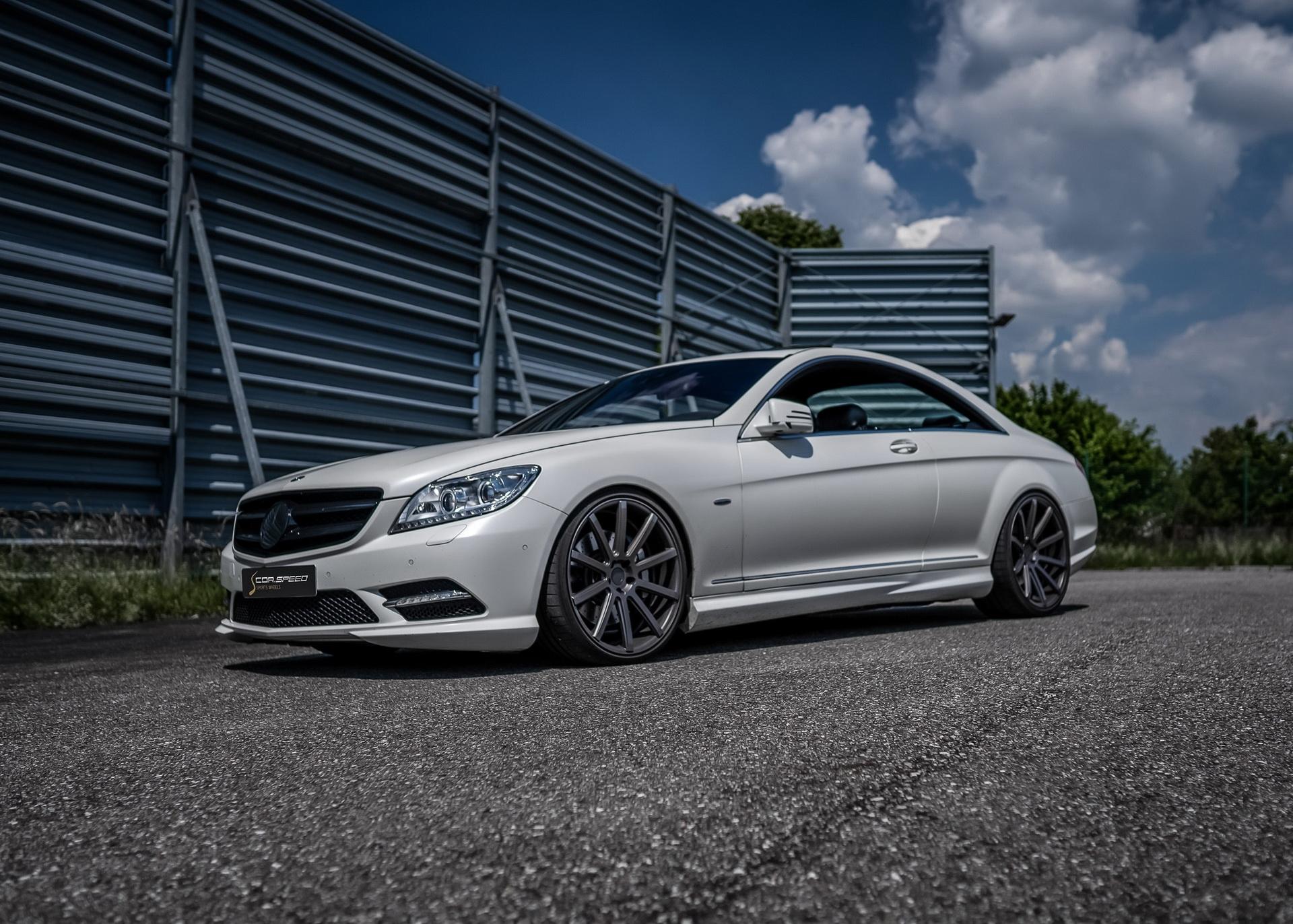 Mercedes-Benz CL 500 restyling esterno