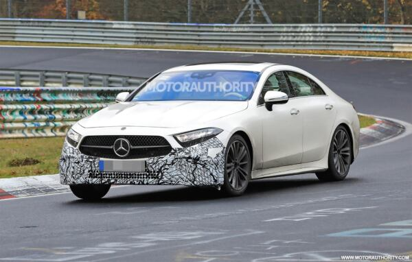 Mercedes CLS 2022 nuove foto spia