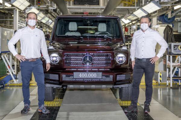 Mercedes Classe G 400.000 unità