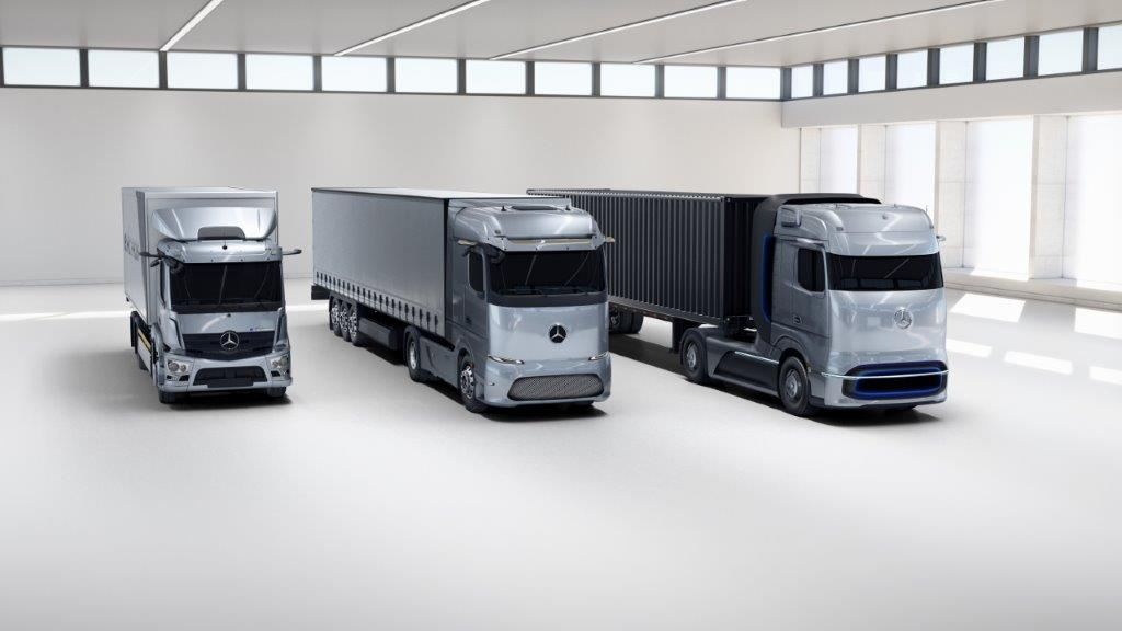Mercedes eActros e GenH2 Truck Truck Innovation Award 2021