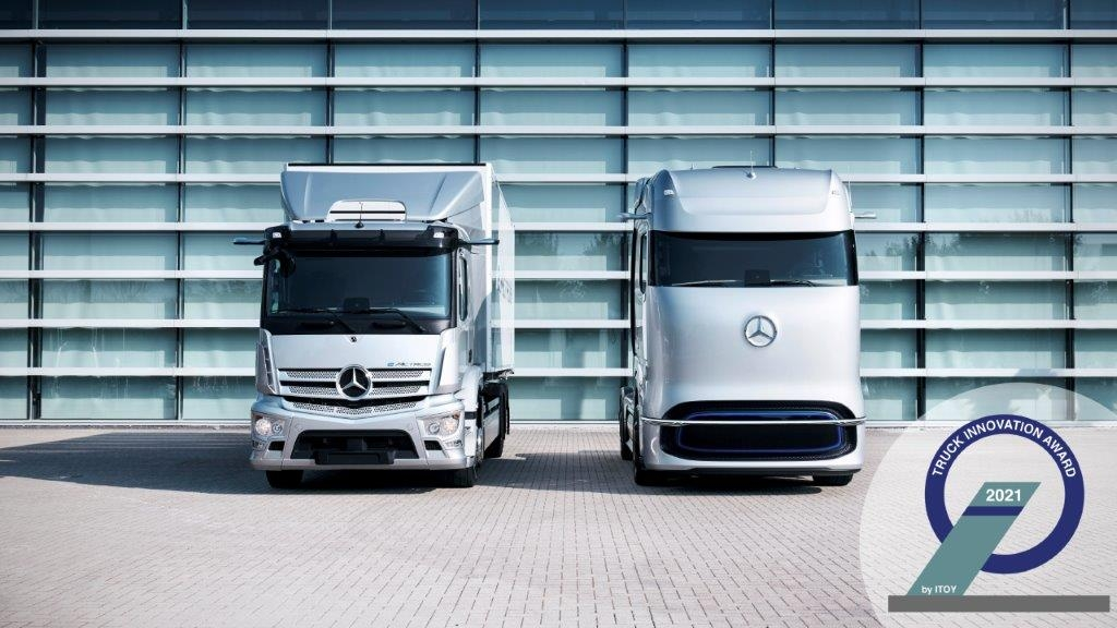 Mercedes eActros e GenH2 Truck Truck Innovation Award 2021