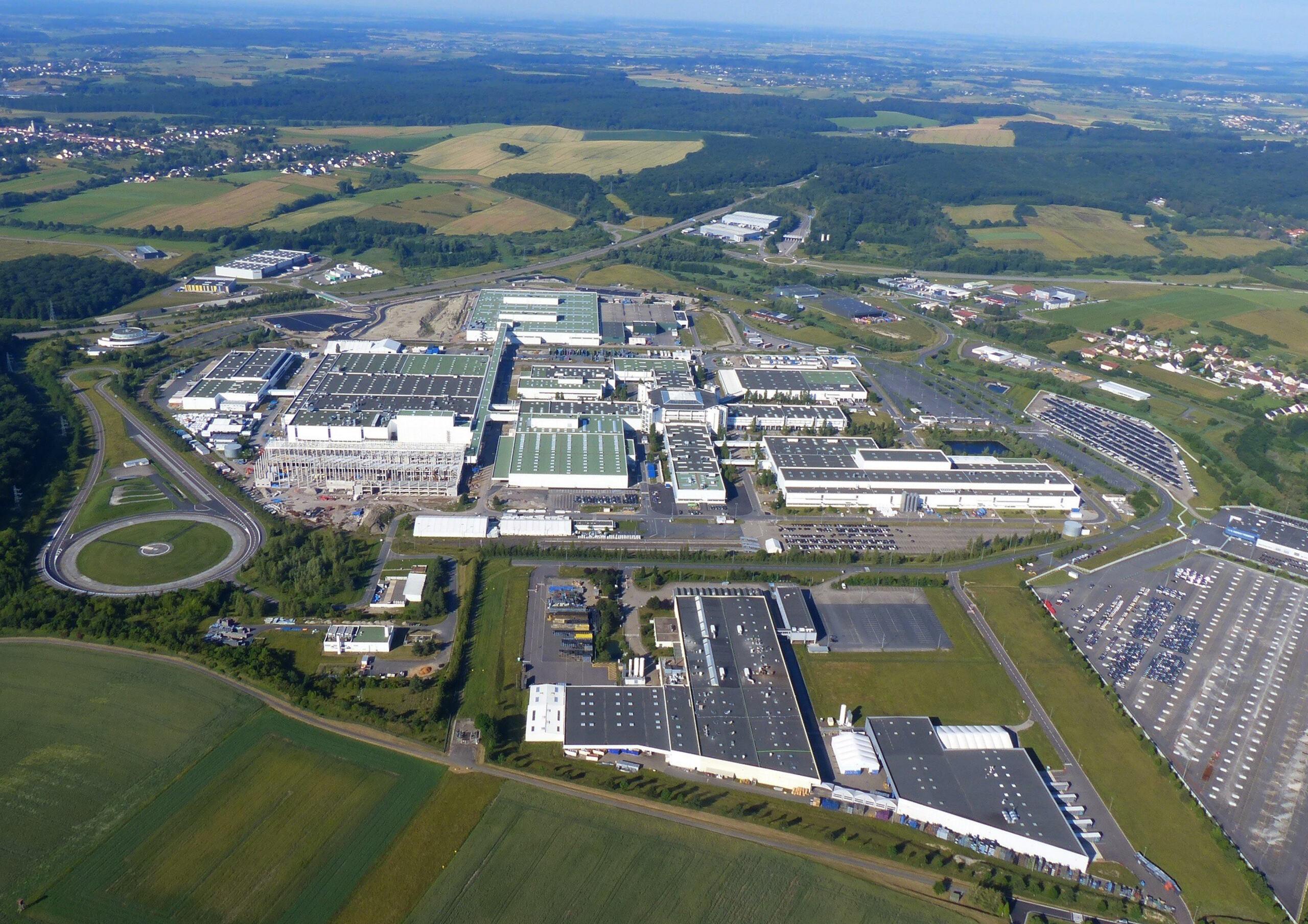 Mercedes stabilimento Hambach
