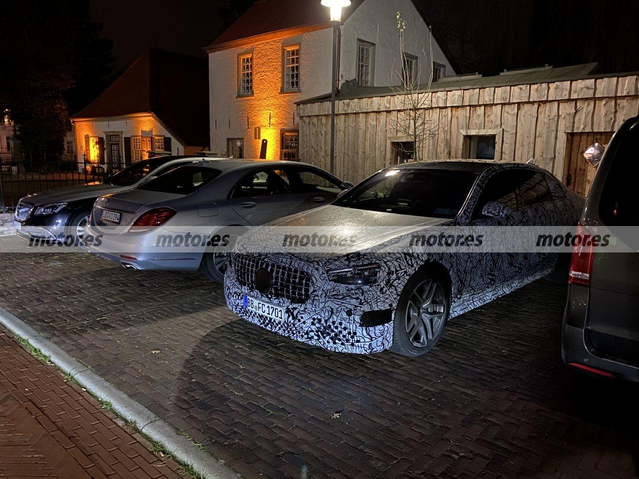Nuova Mercedes-AMG S 63 e foto spia