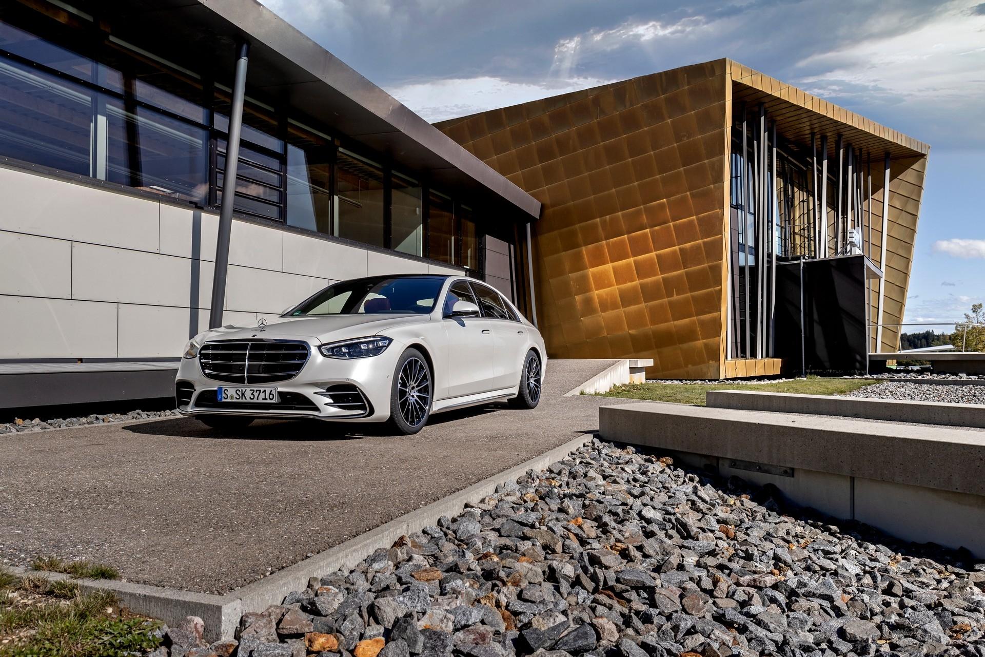 Nuova Mercedes Classe S America