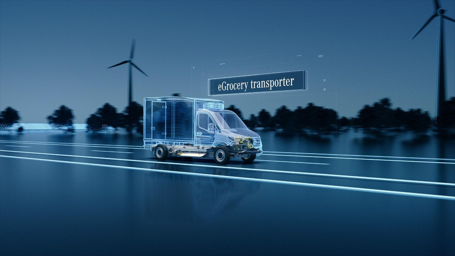 Nuovo Mercedes eSprinter primi dettagli