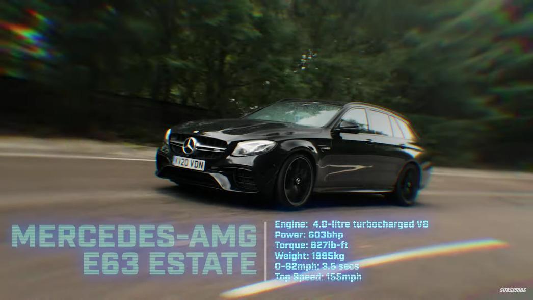 Mercedes-AMG E 63 S Wagon The Stig
