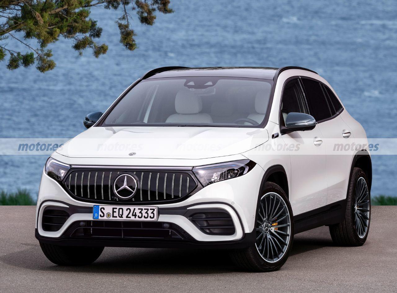 Mercedes-AMG EQA render