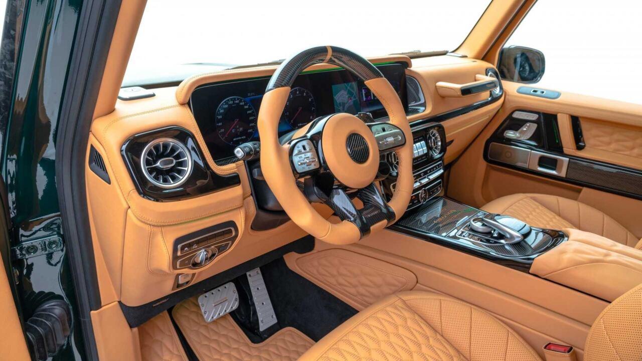 Mercedes-AMG G 63 Gronos Mansory