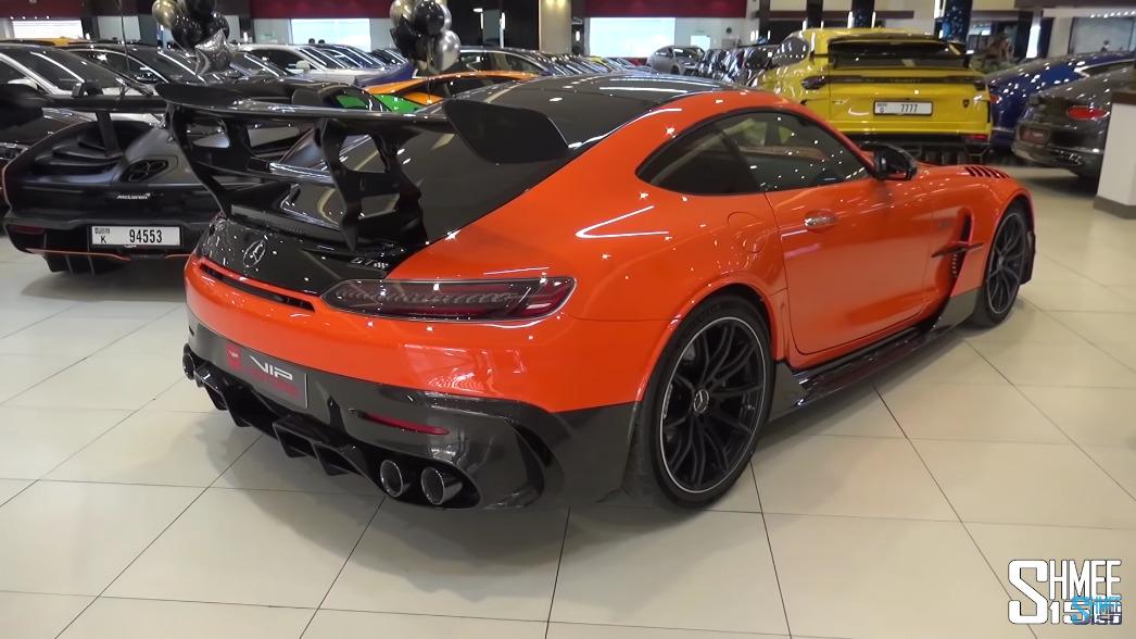 Mercedes-AMG GT Black Series Dubai