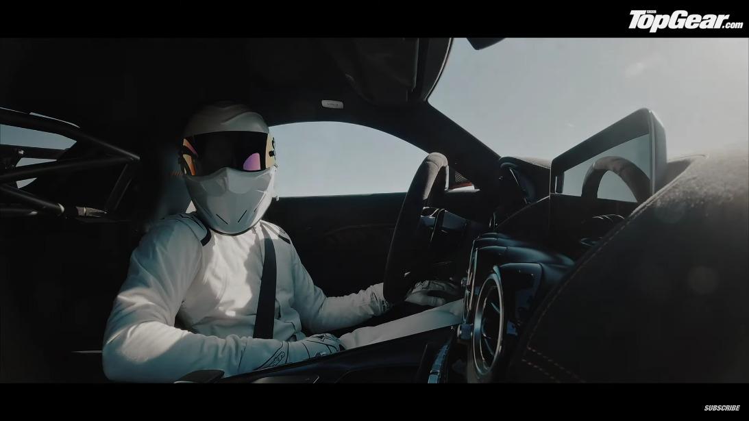 Mercedes-AMG GT TBlack Series The Stig
