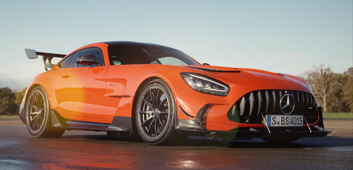 Mercedes-AMG GT Black Series Top Gear