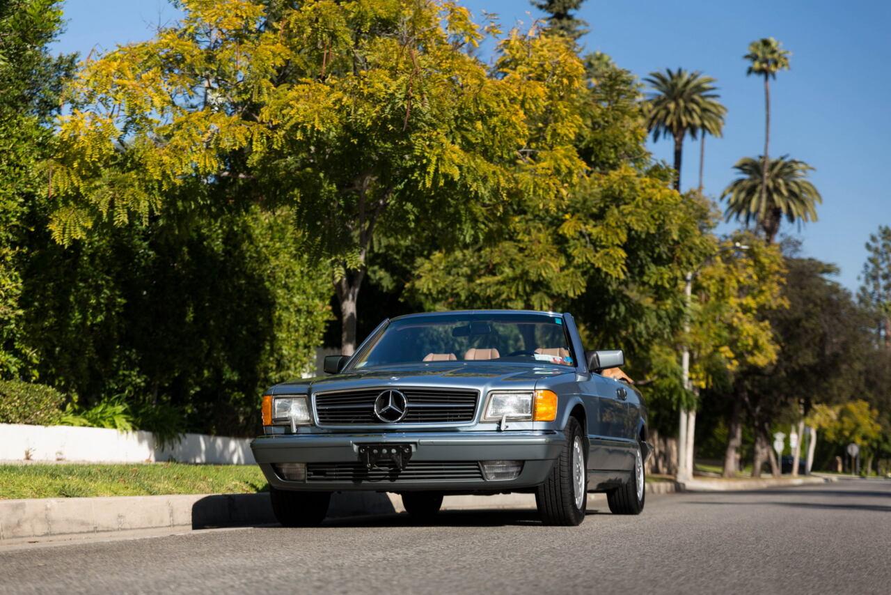 Mercedes-Benz 560 SEC Convertible Straman 1986 asta