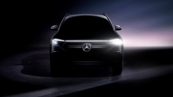 Mercedes EQA nuovo teaser