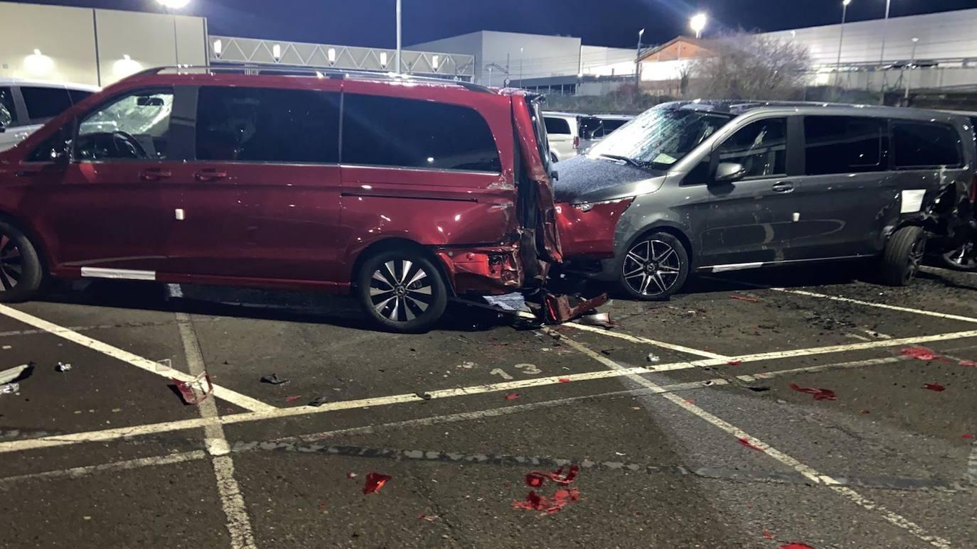Mercedes ex dipendente danni stabilimento Vitoria